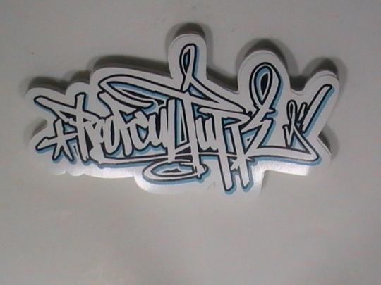 White Vinyl Stickers