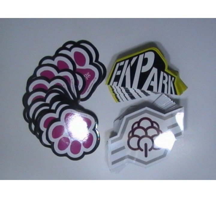 Die Cut Blank Stickers