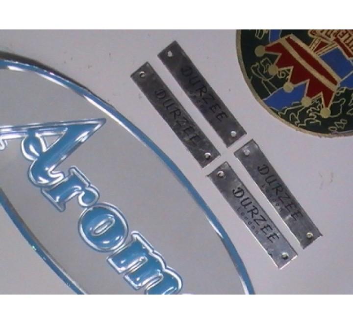 Die Cut Metal Stickers