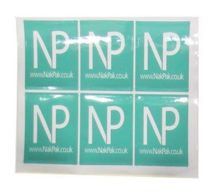Square Stickers Paper