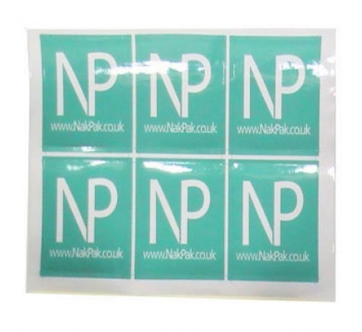 Square Stickers Paper
