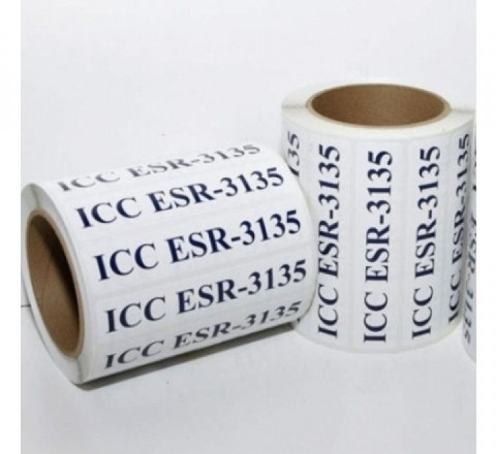 Rectangular Roll Stickers