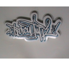 Custom White Vinyl Stickers